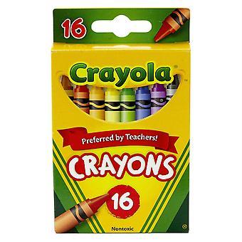Crayola Crayons, Reg Größe, 16 Farben