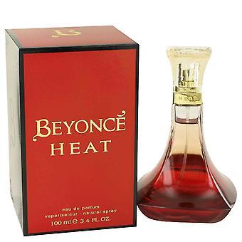 Beyonce lämpöä by Beyonce Eau De Parfum Spray 3,4 oz/100 ml (naisten)