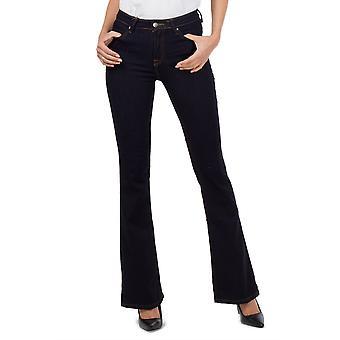 Mid Rise Bootcut Jeans - Indigo