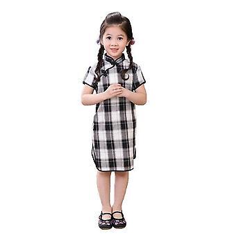 Qipao chinesische neujahr Cheongsam Mädchen Kleid -Stil 4, Kleinkind