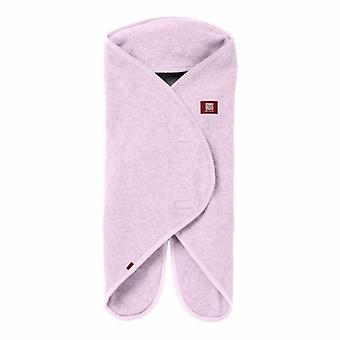 Red Castle Babynomade Double Fleece Blanket Nacre and Grey 0 to 6 Months