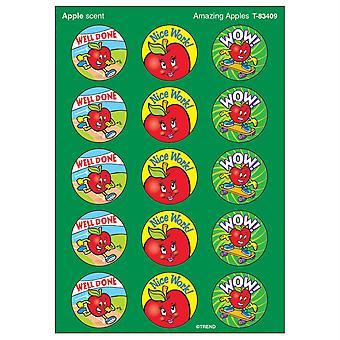 Amazing Apples/Apple Stinky Stickers, 60 Ct.