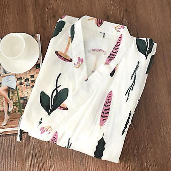 Ruházati szett Kawaii nyomtatott Kimono