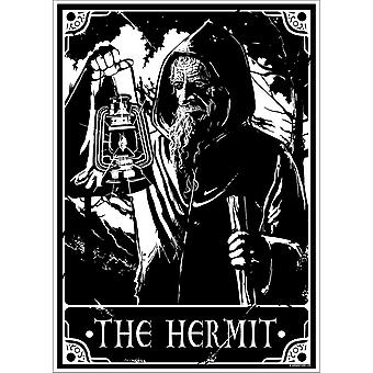 Deadly Tarot Mini The Hermit Poster
