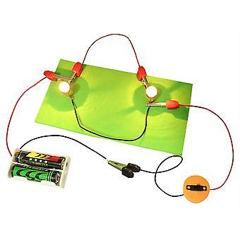 Serie Parallel Circuits Fysik Eksperiment DIY Science Pædagogiske Legetøj Kit