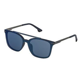 Unisex Sonnenbrille Police SPL528999NQB Blau (Ø 99 mm)