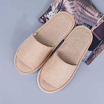 Hotel Slippers Loafer Wedding Shoes Non-slip Flip Flop Foam Bottom Home Guest