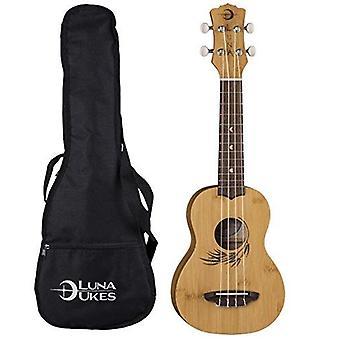 Luna guitars, 4-string ukulele (uke bamboo s)
