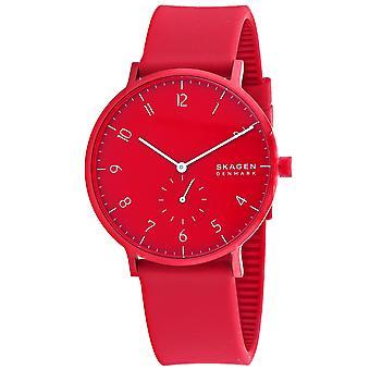 Skagen Men's Reloj de marcación roja Aaren Kulor - SKW6512
