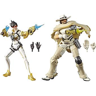 Ultimates Overwatch - traceur et mccree double pack action figure 6in