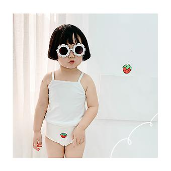 Baby  Cotton Underwear With Fruit Patternpanties,pack Of 3