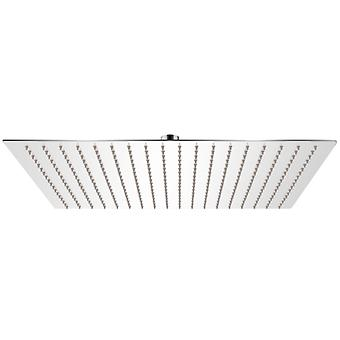 vidaXL Rain shower head stainless steel 50x50 cm Square