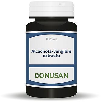 Bonusan Alcachofa de Jengibre Extracto 60 Capsulas