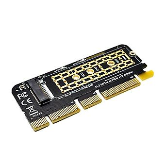 M.2 Nvme Ssd To Pci-e X16 Converter Card - Hard Drive Solid State Disk Adapter