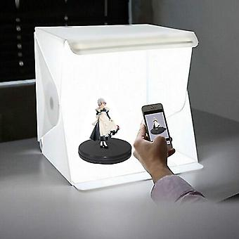 Led Folding Photo Background Lightbox Softbox With Photography Lamp
