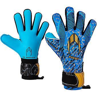 HO First Superlight Negative BLUE BLOOD Junior Goalkeeper Gloves