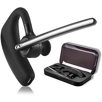 Bluetooth Headset 4.1 fr Handy mit Mikrofon - happyset - zum Telefonieren 2 Handys Gerte Business