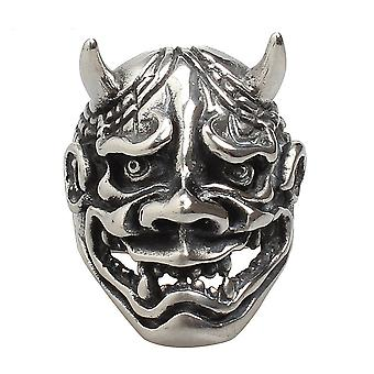 Demon Head Ring Punk Stainless Steel Finger Ring For Party