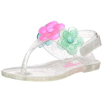 OshKosh B'Gosh Kids' Pectin Girl's Floral Jelly T-Strap Sandal