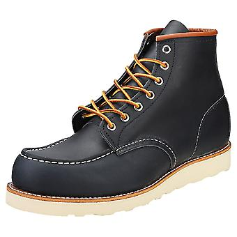 Red Wing 6-inch Moc Toe Mens Casual Boots in Navy