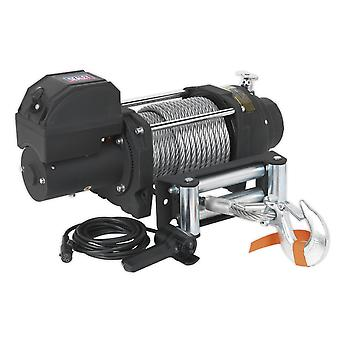 Sealey Rw8180 Recovery Winch 8180Kg Line Pull 12V Industrial
