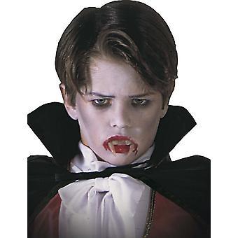 Het kindvampier dentier van Halloween
