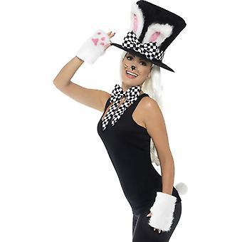 Volwassen hoedenmaker konijnenkit