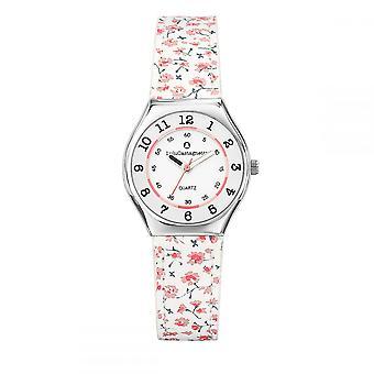 Watch Girl Lulu, Girls' Mini Star bracelet white strap liberty - 38825