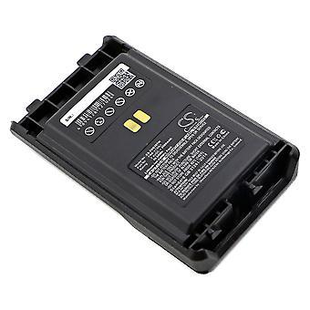 Battery for Vertex YAESU VX-351 VX-354 VX-359 FNB-V130LI FNB-V130LI-UNI 2600mAh