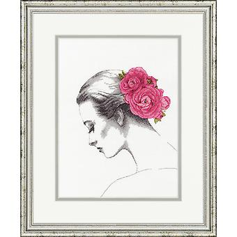 Dimensions Counted Cross Stitch: Floral Portrait