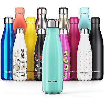 1.5 Litre Stainless Steel Water Bottle, BPA Free Vacuum Insulated Metal Water Bottle for 12 Hours