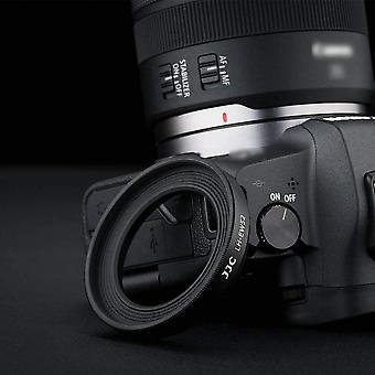 Wokex Gegenlichtblende für Canon RF 35mm f/1.8 Macro IS STM Objektiv mit Canon EOS RP ersetzt Canon