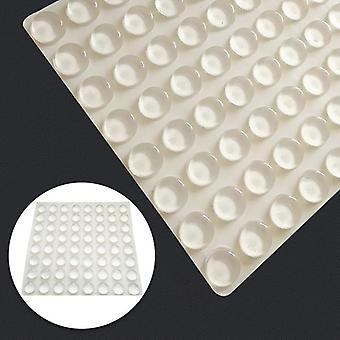 20pcs Self Adhesive Silicone Transparent Soft Cushion Door Furniture Anti Slip