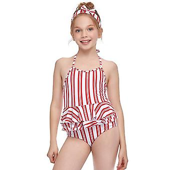 Swimsuit cross-border girl's one-piece swimming suit swimwear