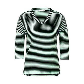 Cecil 315920 T-Shirt, Bud Green, S Kvinna