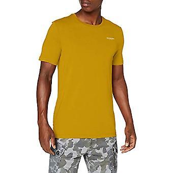 G-STAR RAW Text Slim T-Shirt, Grön Svavel 336-5164, X-Large Män