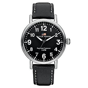 River Woods Analog Men's Quartz Watch with Leather Strap RW420001