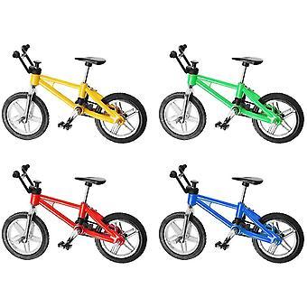 FengChun Finger Bikes BMX, Finger Mountainbike, Mini Modell Ornamente - 4STÜCKE