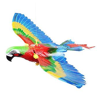 Electric Light Parrot Will Fly Glow Vocal Bird Hanging Line Parrot |RC Animals
