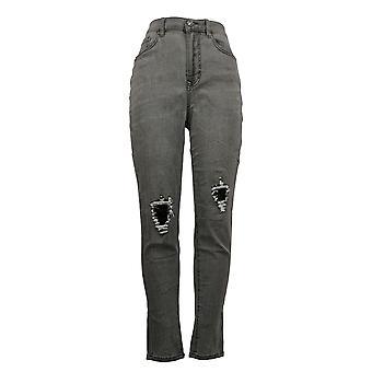 DG2 by Diane Gilman Women's Jeans 6T Tall Virtual Stretch Gray 740964
