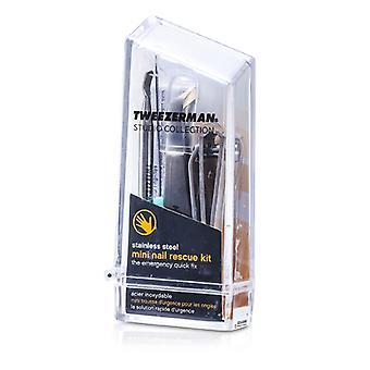 Tweezerman Mini nagel Rescue instellen (Studio-collectie) 4-pack