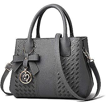 女性ファッションレディースレザートップhle dt6689のためのダークグレーの財布hbag