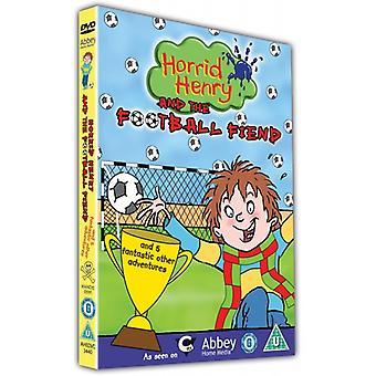 Horrid Henrys Football Fiend DVD