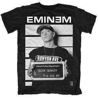 Eminem Arrest Mens T Skjorta: Medium