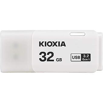 Kioxia 32GB TransMemory U301 USB3 Bílá