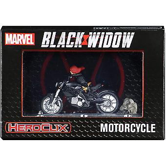 マーベルヒーロークリックス:オートバイとブラックウィドウ
