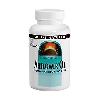 مصدر الطبيعية Ahiflower النفط، 120 Softgels