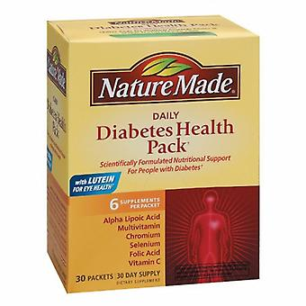 Nature Made Daily Diabetes Health Pack, 30 Count