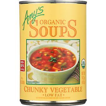 איימיס מרק ירקות שמנמן Gf Org, מקרה של 12 X 14.3 עוז