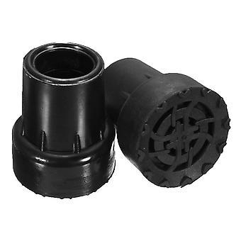new 19mm rubber pad cap antiskid for caliber walking stick crutch cane bottom pads sm37433